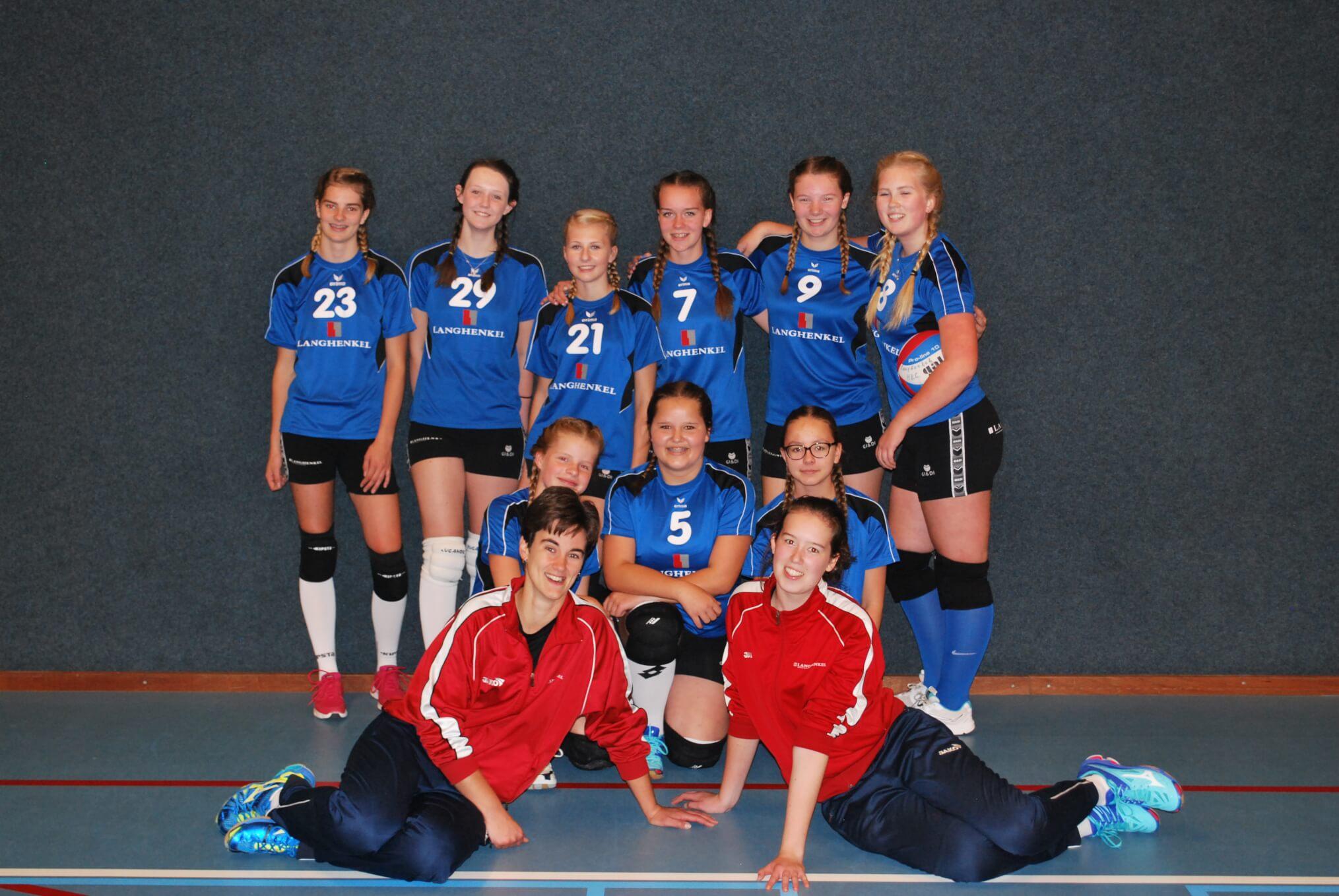 Team foto Meiden B