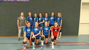 Teamfoto Meiden A1 2017-2018